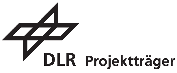 Logo des Projektträgers Deutsches Zentrum für Luft- und Raumfahrt (DLR)